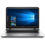 "Laptop HP ProBook 470 G3 (Procesor Intel® Core™ i7-6500U (4M Cache, up to 3.10 GHz), Skylake, 17.3""FHD, 8GB, 1TB, AMD Radeon R7 M340@2GB, Wireless AC, FPR, Win7 Pro + upgrade la Win10 Pro 64)"