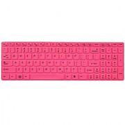 Avigator Hot Pink Ultra Thin Silicone Keyboard Protector Skin Cover for IBM Lenovo IdeaPad Z500 Z510 Z510p Z580 Z585