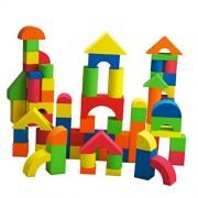 Imported 41pcs Soft EVA Foam Building Blocks Set Kids Educational Toys