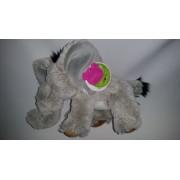 Doudou Éléphant Famosa Softies Blanc Beige/Crème/Écru Marron Gris Jouet Bebe Naissance Peluche Éveil Enfant Blankie Blanket Comforter Soft Toys Plush