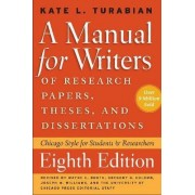 A Manual for Writers of Research Papers, Theses, and Dissertations by Kate L. Turabian