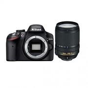 Nikon D3200 Digital SLR Camera (Black) with AF-S DX 18-140mm VR with 8GB Card, Camera Bag