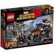 Конструктор Лего Супер Хироус - Опасният обир на Костите - LEGO Marvel Super Heroes, 76050