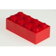 200x Lego Red 2x4 Bricks Super Pack
