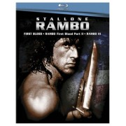 Rambo 1-3 Boxset [Blu-ray] First Blood Rambo: First Blood Part II Rambo III