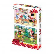 PUZZLE 2 IN 1 - MINNIE CEA HARNICA (66 PIESE) (385177)