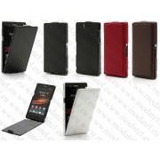 "Sony Xperia Z (C660X Yuga) (калъф кожен - ""HUNTER style"")"