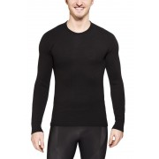 Woolpower 200 Crewneck Unisex Black S Langarm Shirts