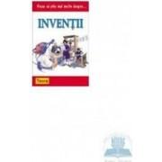 Vreu sa stiu mai multe despre... inventii - Wendy Madgwick