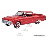 Ford Ranchero Pickup Truck (1960 1/24 scale diecast model car Red)