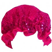 Shower Cap - Sparkly Hot Pink