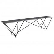 vidaXL Tapetovací stůl hliník a ocel