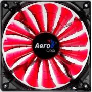 AeroCool Shark Ventola di Raffreddamento da 140 mm, Rosso