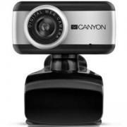 Уеб камера CANYON CNE-HWC1, 0.3 мегапиксела, USB 2.0, Микрофон, CNE-HWC1