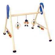 Hess 13328 - Bambino Giocattolo in Legno, Attività Baby Gym, Joe