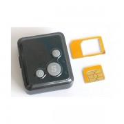 Mini micro localizzatore GPS Tracker tascabile, chiama, invia SMS, tasto SOS