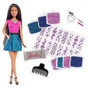 Barbie Glitter Hair Design African-American Doll