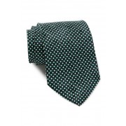 BOSS Hugo Boss Diamond Silk Tie OPEN GREEN