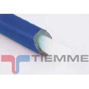 Teava PEX cu bariera oxigen izolat albastru 16 x 2 mm