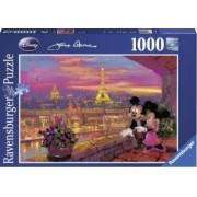 PUZZLE DISNEY APUSUL LA PARIS 1000 PIESE Ravensburger