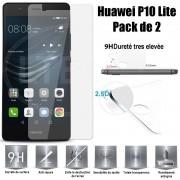 Huawei P10 Lite Vitre Protection D'ecran En Verre Trempé Incassable Tempered Glass (Lot De 2) Pour Huawei P10 Lite