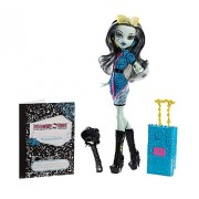 Monster High Y0380 - City of Frights, Travel Scaris Frankie Stein Bambola fashion - 2013