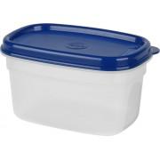 emsa SUPERLINE Frischhaltedose eckig 0,5 l Blau (517091)