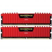Memorie Corsair Vengeance LPX Red 8GB DDR4 3000 MHz CL15 Dual Channel Kit