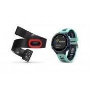 Garmin Forerunner 735XT Armband apparaat incl. Premium HRM-Run borstband blauw/turquoise 2017 Multifunctionele horloges