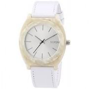 Nixon Nixon Time Teller Acetate Leather White Granite Watch A328-1029 - A3281029-00