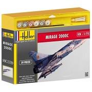 Heller 50303 - Modellismo, Aereo da caccia Mirage 2000 C, scala 1:72 [Importato da Francia]