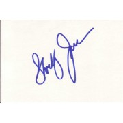 Shirley Jones Autographed Index Card