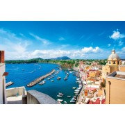 Town Naples Italy 14-512 Grade 2 1500 Small piece sun master master test of puzzle (japan import)