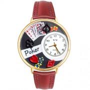 Whimsical Watches - G-0430004 - Montre Mixte - Quartz - Analogique - Bracelet Cuir Multicolore
