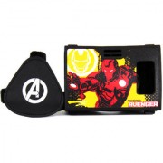 Official Marvel Avengers(Iron Man) Golden Avenger Virtual Reality Viewer (VR Headset) from AuraVR
