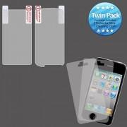 MyBat LG US760 Genesis Screen Protector Twin Pack - Retail Packaging - Clear