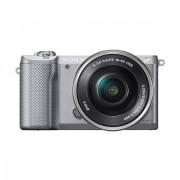 Aparat Foto Sony Alpha A5000 + Obiectiv 16-50mm (Argintiu)