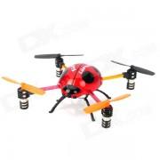 Creativa control remoto de 2.4GHz 4-CH Ladybug Estilo Flying UFO w / Gyro - Amarillo + Negro + Rojo