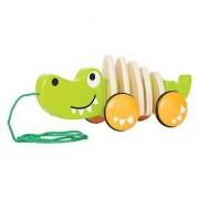 Hape-Wooden Walk-A-Long Croc
