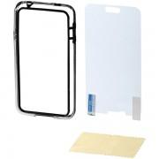 Bamper i zaštitna folija za Samsung S5 HAMA crni 123470