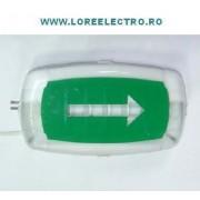 corp iluminat de siguranta CISA 05 LED Autonomie 3 ore - permanent