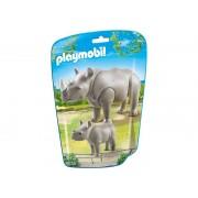 6638 Playmobil Rinocer Cu Pui