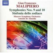 G.F. Malipiero - Symphonies Vol.5 (0747313088270) (1 CD)