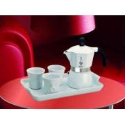 BIALETTI Zestaw do espresso Moka Dama Bianca 3tz 5 el.