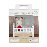 Epoch Sylvanian Families Sylvanian Family Doll set chocolat rabbit baby furniture set DF-11