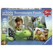 Ravensburger - 09406 - Puzzle Arlo- Le Gentil Dinosaure - 3 Puzzles - 49 Pièces