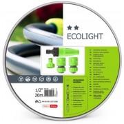 "Cellfast - Ecolight Set - Tuinslang 20 M - 4 Spuitstukken - 3/4"""