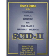 User's Guide for the Structured Clinical Interview for DSM-IV Axis II Personality Disorders by Michael B. First