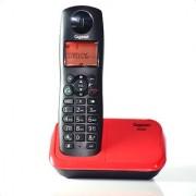 Gigaset A450 Black Red cordless landline phone