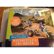 Discovery Kids Motorcycle & Tri-Racer Model Set